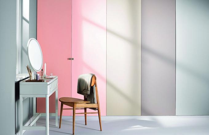 Mieszkanie w kolorze pudrowego różu