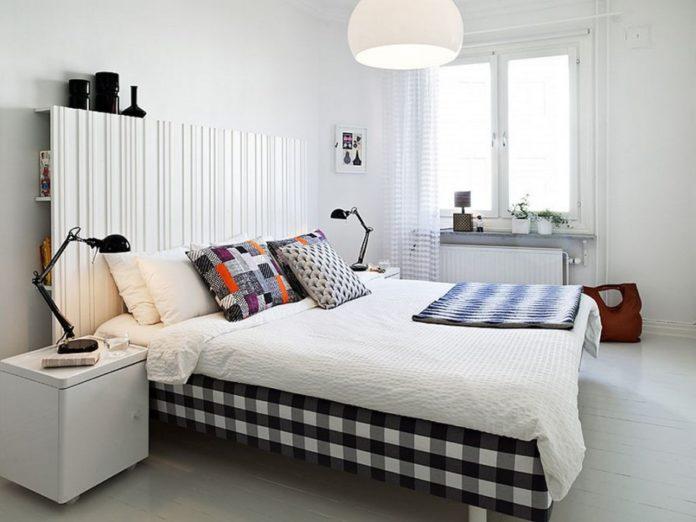Czerń - elegancki i modny dodatek do sypialni