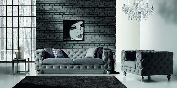 Sofa glamour , sofa Prado