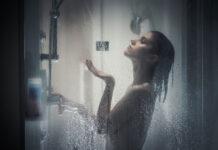 Idealnie czysta kabina prysznicowa